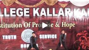 Dance on Dill Badtameez by students at Cadet College Kalar Kahar