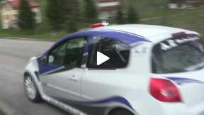 External steps test Monte Grappa Fatichi-Pollini Renault Clio R3 - AF Motorsport