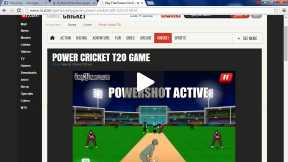 Playing Cricket Onnline