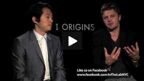 #InTheLab with Michael Pitt & Steven Yeun (