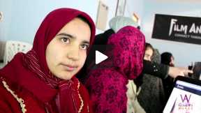 Social Media Training Class for Afghan Girls at Ali Sher Nawaie High School, #Herat, #Afghanistan