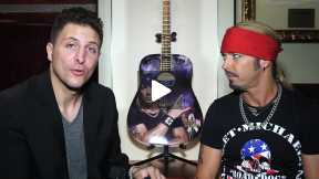 #InTheLab with Bret Michaels at the Hard Rock Cafe