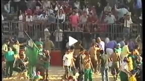 1999 Calcio Storico Fiorentino, Greens Vs Whites - REMATCH