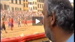 2002 Calcio Storico Fiorentino, Blues vs Reds