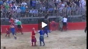 1999 Calcio Storico Fiorentino, Reds vs Whites