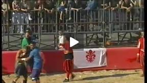 1999 Calcio Storico Fiorentino, Blues vs Greens