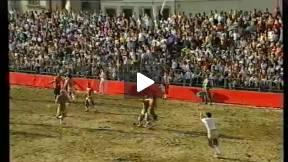 1991 Calcio Storico Fiorentino, Greens vs Whites