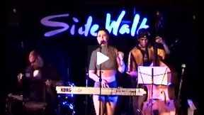 Eve Lesov live at Sidewalk Cafe