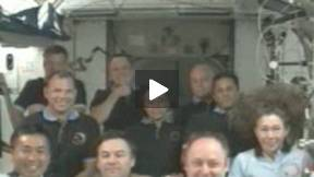 STS-119: Call From the President