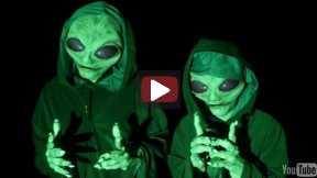 Alien Invasion Prank!