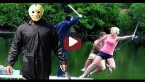 Friday The 13th Halloween Scare Prank